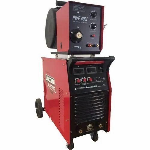 PWF400I Lincoln MIG Welding Machine, MIG Welder, मिग वेल्डिंग मशीन -  Sanwaria Trade Centre, Secunderabad | ID: 20642960897
