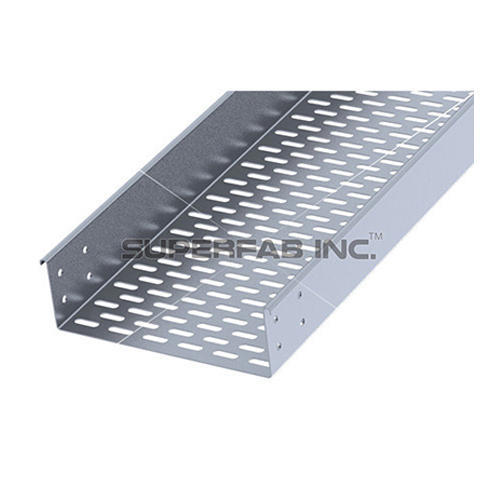 Steel Return Flange Outside Perforated Cable Tray Id