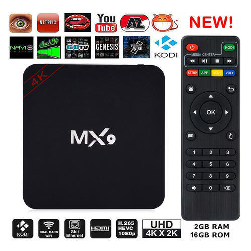 DVR Systems for Monitoring - MX9 4K Ultra HD Android Smart TV Box