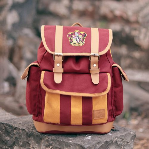 Harry Potter Gryffindor Canvas Backpack