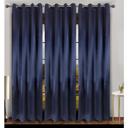 Plain Silk Curtain