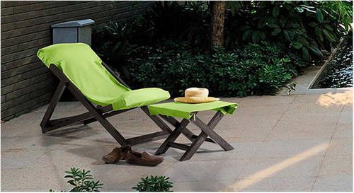 Awesome Matira Deck Chair And Foot Stool Beatyapartments Chair Design Images Beatyapartmentscom