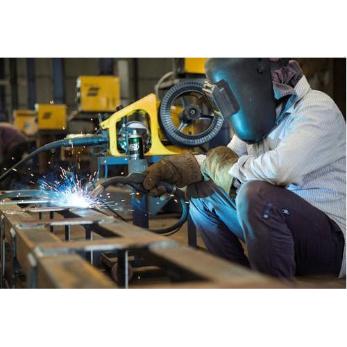 Steel Fabrication Services: Mild Steel Mig Welding Machine Fabrication Services, Rs