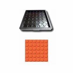 Six Rounds Floor Tiles Rubber Mould