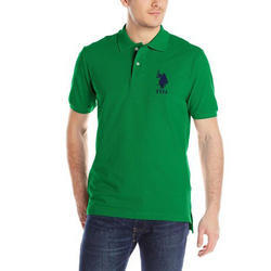 Printed Fancy Cotton Polo T Shirt