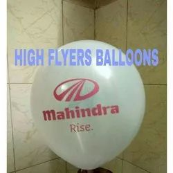 White Air Advertising Balloons
