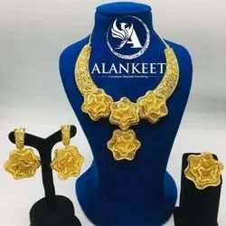 Gold Plated Designer Necklace