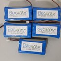 2.2 Ah Lithium-ion Elecorev Enp7422 Lithium Ion Battery, Voltage: 7.4 V