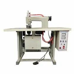 Semi Automatic Non Woven D Cut Bag Making Machine