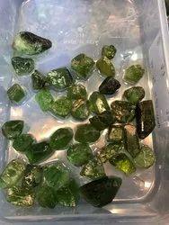 Facet Grade Natural Peridot Rough Stones