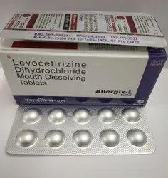 Levocetirizine 5mg Tablets, Mouth Dissolving tablets