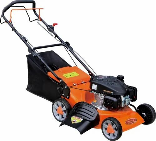 World W18 - Maax Petrol Lawn Mower, Weight: 25 kgs