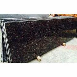 Polished Tan Brown Granite Slab, Thickness: 18-20 mm