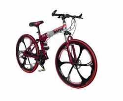 BMW Red Silver X6 Foldable Cycle