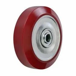 Balvika Polyurethane Tyred Nylon Wheel, Size: 38-200mm
