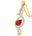 Designer Diamond Pendant , 2.51 Grams