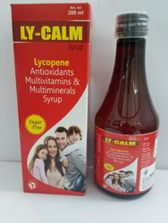 LY Calm Allopathic Lycopene, Vitamin A, Vitamin C with Minerals Syrup, Packaging Type: Bottle