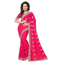 Georgette Embroidered Designer Sarees