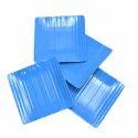 Utensza Melamine Square Snack Plate - 4 Pcs (blue)