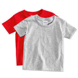 Round Neck Mens Plain T Shirt