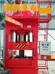 Santec Iron Hydraulic Presses, Capacity: 250 Ton