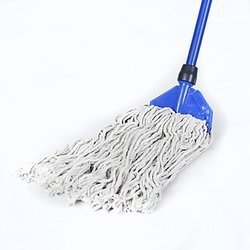 Ms Handle, Fine Cotton Threads Clip Mop Set, Size: 5 Feet