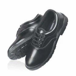 Black Leather School Shoes, Size: 6-10