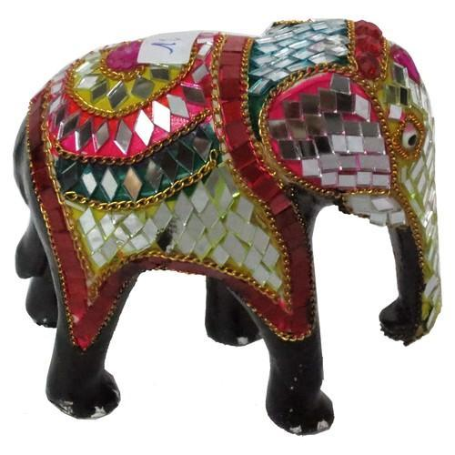 Astonishing Multicolor Lac Elephant For Promotional Use Id 4423432873 Complete Home Design Collection Barbaintelli Responsecom