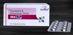 Rupatadine 10 mg & Montelukat 10 mg Tablets