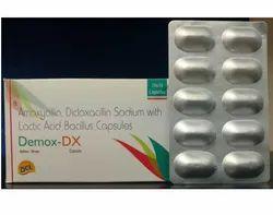 Amoxycillin 250mg Dicloxacillin 250mg Capsules