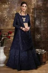 Best Machine HEAVY GEORGETTE WORK LEHNGA, for Business