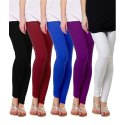 Ladies Casual Wear Plain Cotton Legging