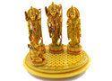 Handmade Resin Figurines of  Ram Darbar