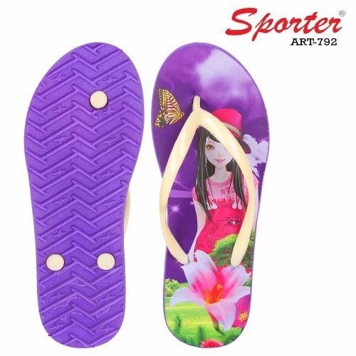 e9060d44f9897 Sporter Women/girls Purple 792 Slipper & Flip Flops