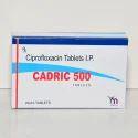 Ciprofloxacin Tablets I.P 500 Mg