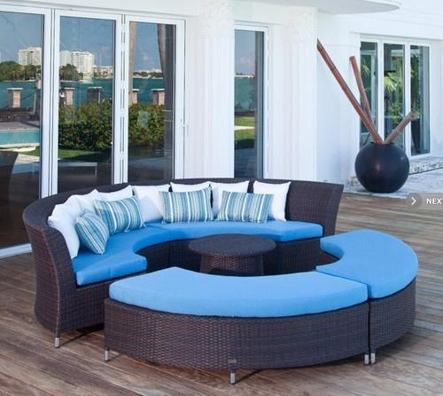 Outdoor Furniture Set Size 30 Inch