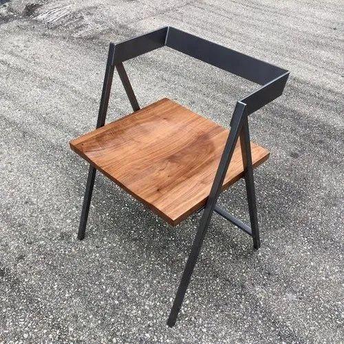 Wood Modern Black Antique Chair
