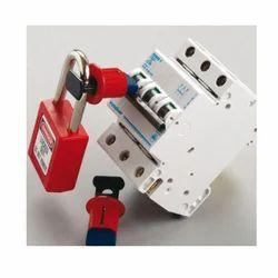 Electric Circuit Breaker Lockout