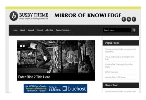 Download Best Free Premium Blogger Templates in Gol Market, New ...