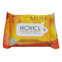 Musk Premium Wet Tissues