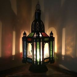 Gypsy Coloured Medium Lantern