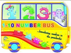 1-10 Number Bus Mathematics Books