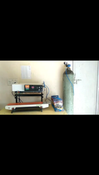 GAS Flush Continuous Sealer Machine Machine