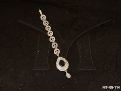 American Diamond Mang Tikka Jewellery