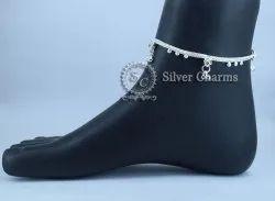 Silver Agra Fancy Payal