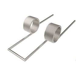 Stainless Steel Silver Double Torsion Spring, For Automobile Industry