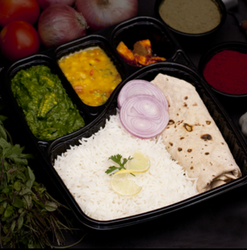 4CP Meal Tray Natraj Black