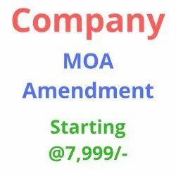 Company MOA Amendment