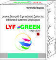 Lycopene Ginseng With Grape Seed Extract Calcium Iron Multivitamins and Multiminerals Softgel Cap.