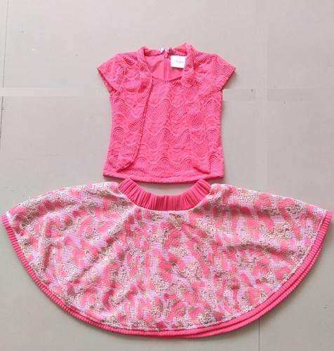 c9fb7798b Girls And Baby Girls Pink Kids Western Wear Dress For Girl Age 2 To 8 Years